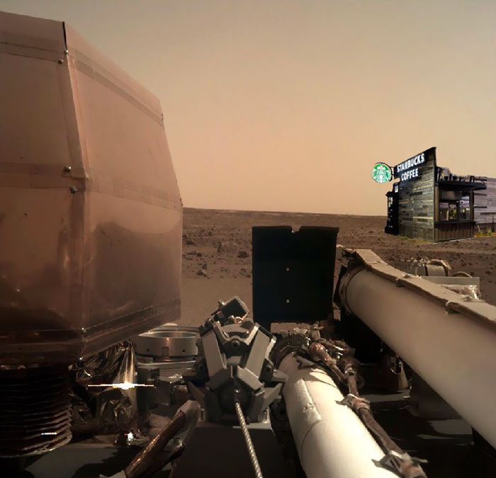 40 Hilarious Reactions To NASA's InSight's First Photos From Mars