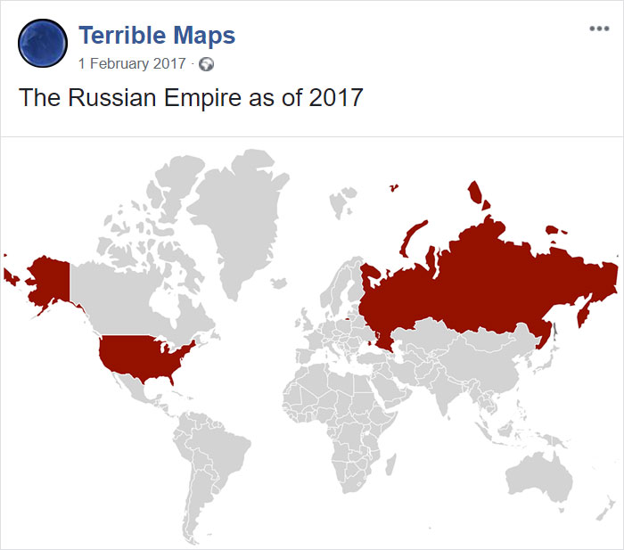 The Russian Empire As Of 2017