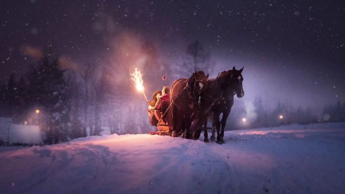 This Video Is So Magical You Will Feel Like You Entered A True Winter Wonderland