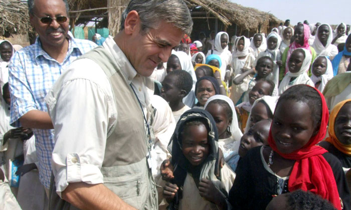 """Clooney Has Advocated A Resolution Of The Darfur Conflict. In April 2006, He Spent Ten Days In Chad And Sudan With His Father To Make The TV Special """"A Journey To Darfur"""" Reflecting The Issues With Genocide Taking Place Within Sudan"""