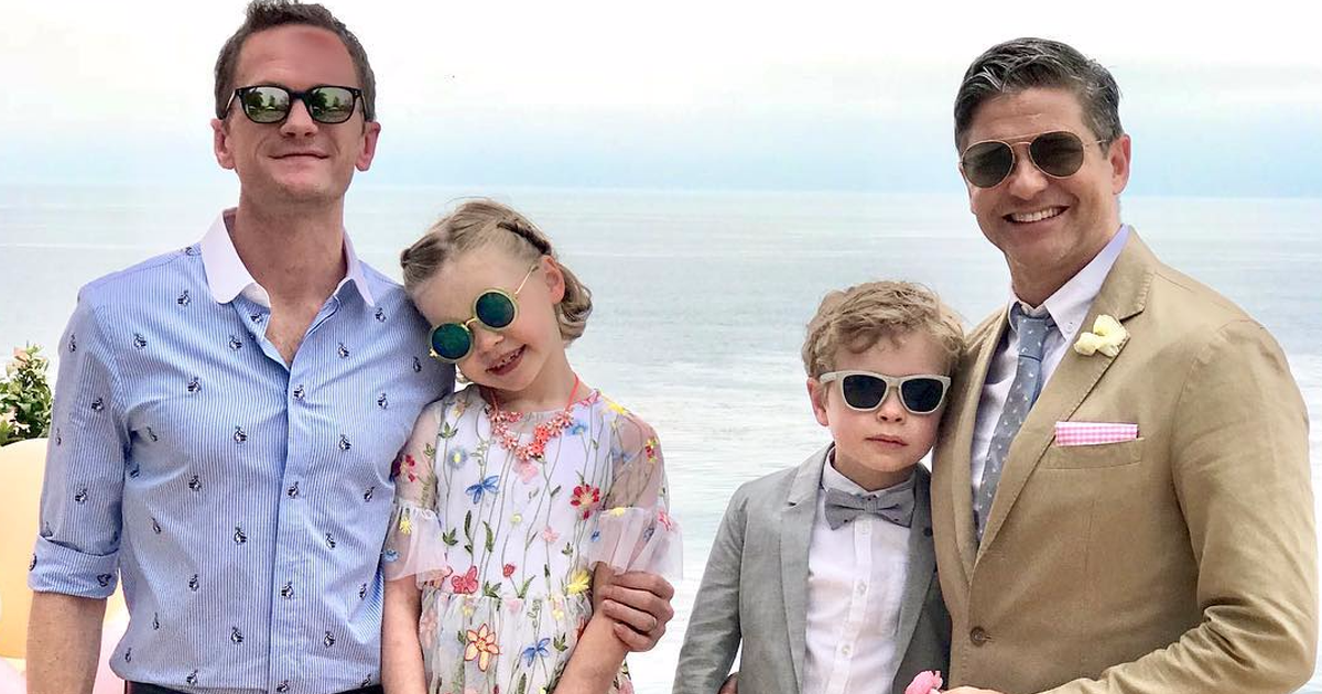 Neil Patrick Harris' Family Revealed Their 2018 Halloween Costumes And They Might Be The Creepiest Yet