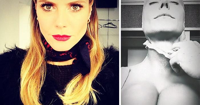 Heidi Klum revela al fin su disfraz de este año y demuestra ser la Reina de Halloween una vez más