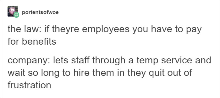 5 Ways Businesses Exploit Their Employees That Will Make You Laugh, Then Cry