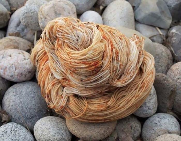 This Yarn Looks Like Spaghetti