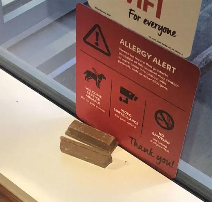 Forbidden Kit-Kat (Door Stoppers)