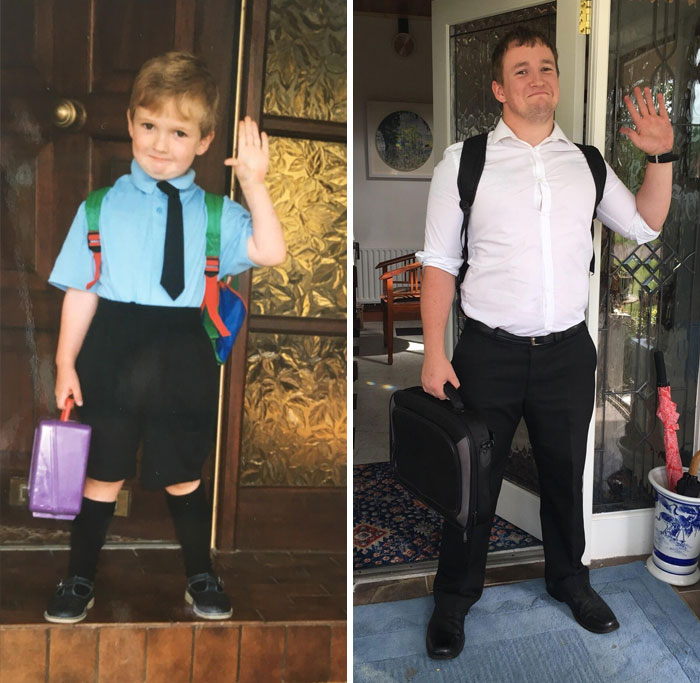 First Day Of Primary School Vs. Last Day Of Teacher Training