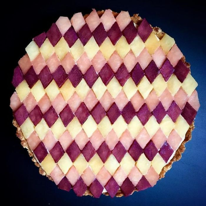 Abstract Art Pie