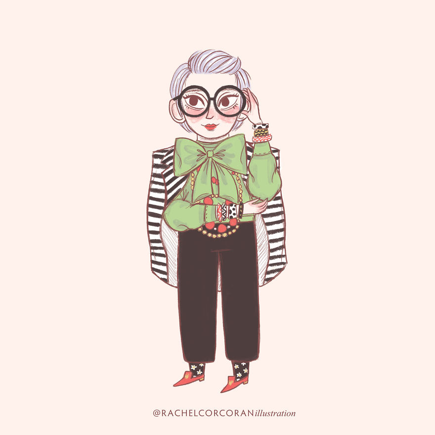 Iris Apfel - Fashion Icon & Interior Designer