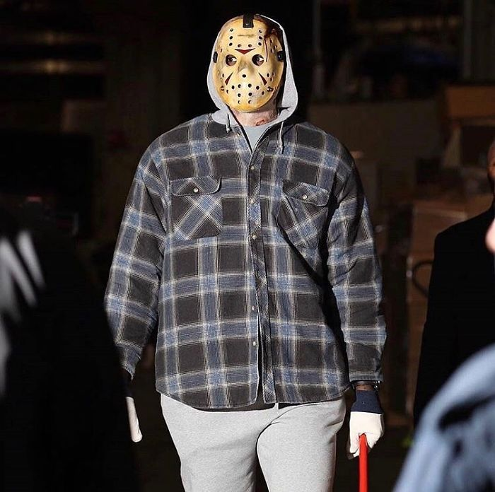 Lebron James As A Jason Vorhees