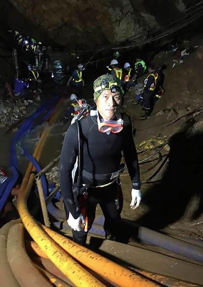 Last Image Of Thai Diver Saman Kunan