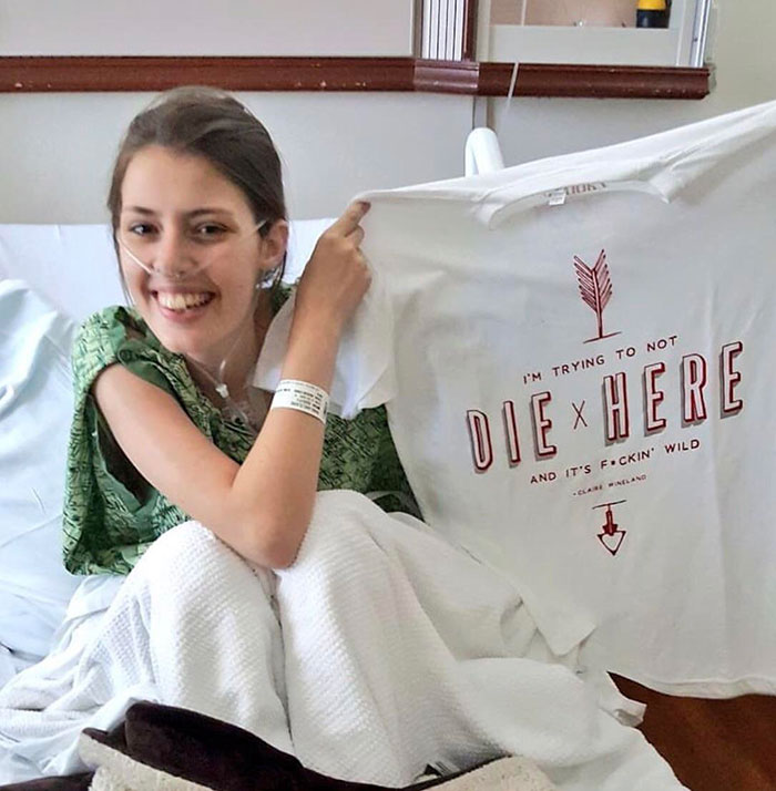 The Last Moments Of Claire Wineland Before She Went Into Surgery For A 2x Lung Transplant