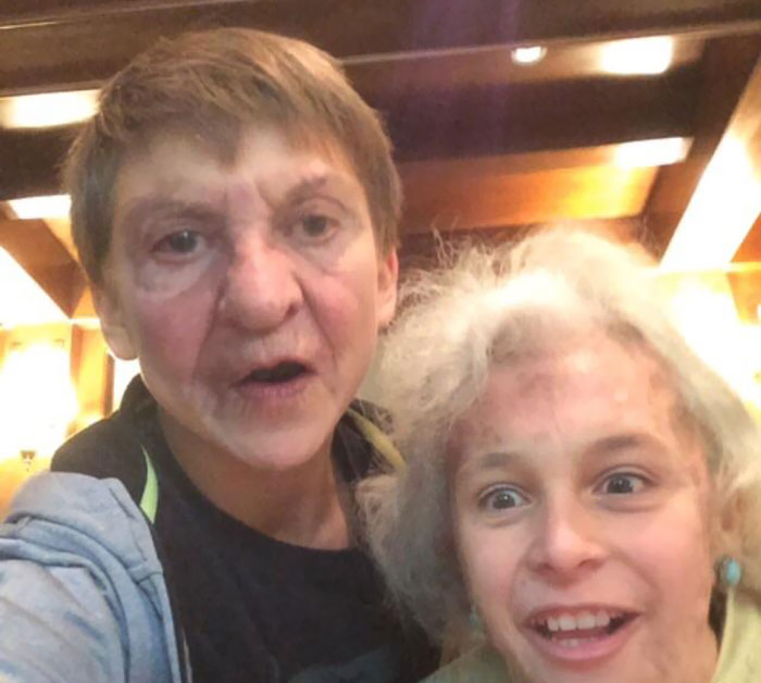 The Last Image I Ever Had With My Grandma Was This Hilarious Face-Swap