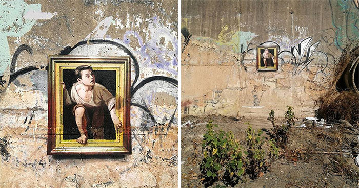 Artist Replicates Famous Paintings In The Most Unusual And Abandoned Places