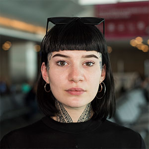 I Work At The Airport And Photograph Unique People From All Over The World