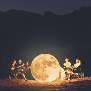 I Express My Love To The Moon Through My Digital Art