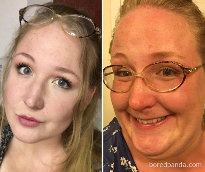 Glasses On: Aunt Edna, Glasses Off: Girl Next Door