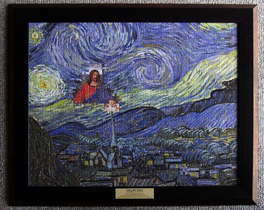 The Last Night, By Leonardo Da Vincent