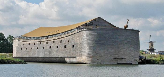 Pria Ini Bikin Replika Bahtera/ Kapal Nabi Nuh, Sampe Habisin Biaya 1,6 Juta Dollar