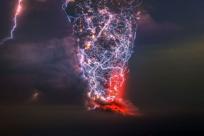 El Calbuco, Chile (1st Place In The Beauty Of The Nature Category)