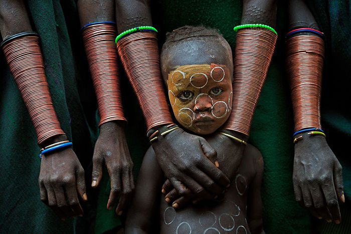 Kid With Hand Crafts, Ethiopia (1st Place In Fascinating Faces And Characters Category)