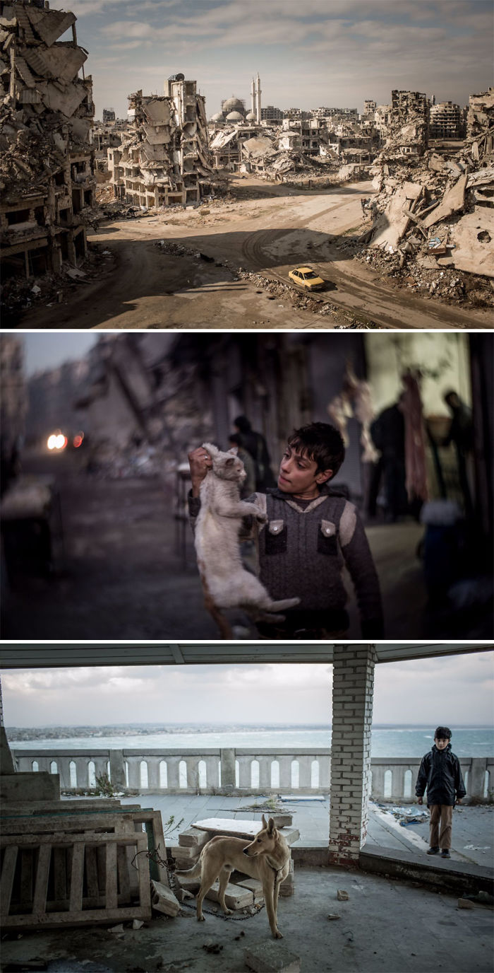 Road To Ruin, Syria (2nd Place In Story-Telling Category)