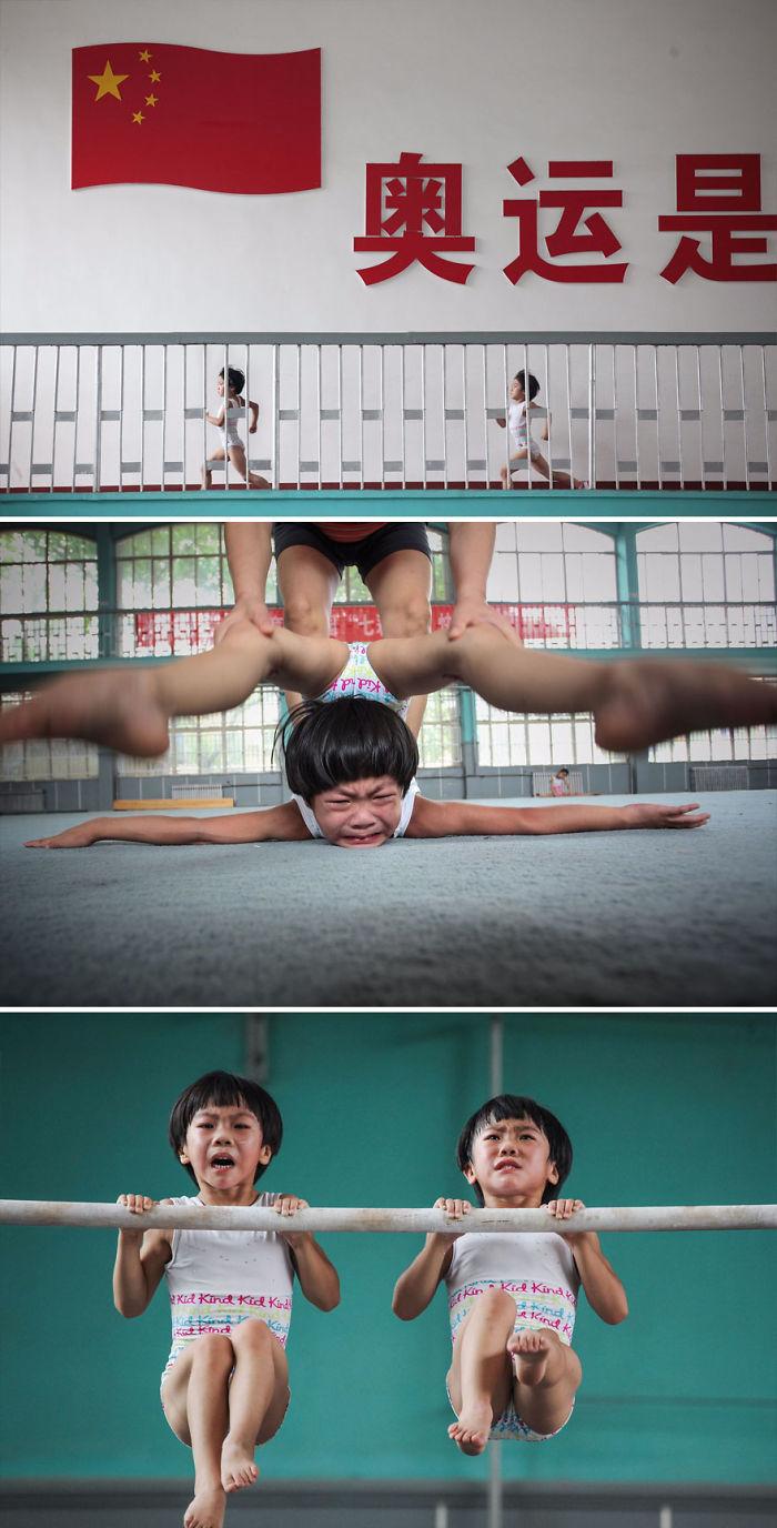 El sueño gimnástico de las gemelas, China (3º en Story-Telling)