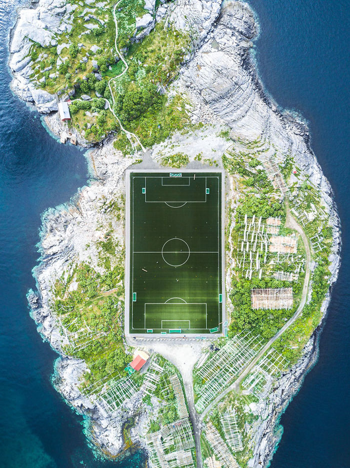 Henningsvær Football Field, Norway (2nd Place In Architecture And Urban Spaces Category)