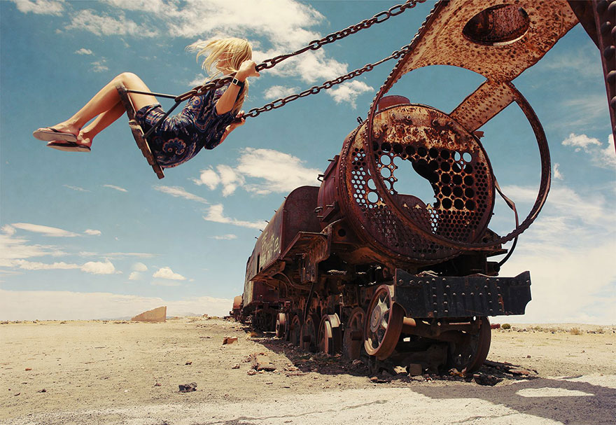 Swing, Bolivia (Honorable Mention In Journeys and Adventures Category)