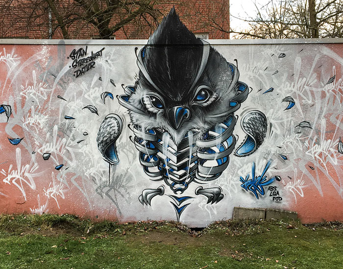 German Artist Takes Street Art To Another Level With His 34 'Sliced' Animals