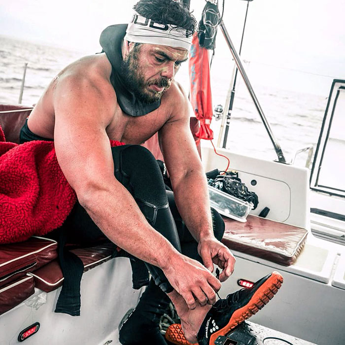 Man Who Spent 5 Months Swimming Around Great Britain Shares His Chilling Experience