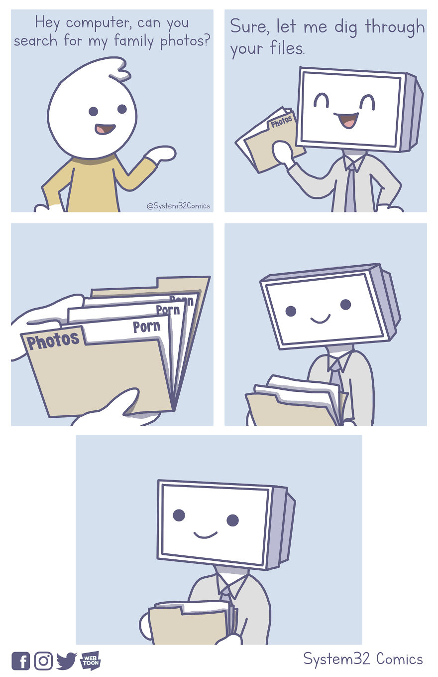 What Happens If You Let A Computer Draw Comics? (6 Comics)