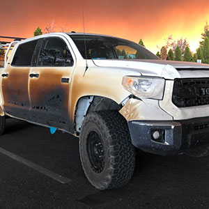 Nurse Posts How His Toyota Looks After He Saves Many Lives From Fire, Toyota Responds