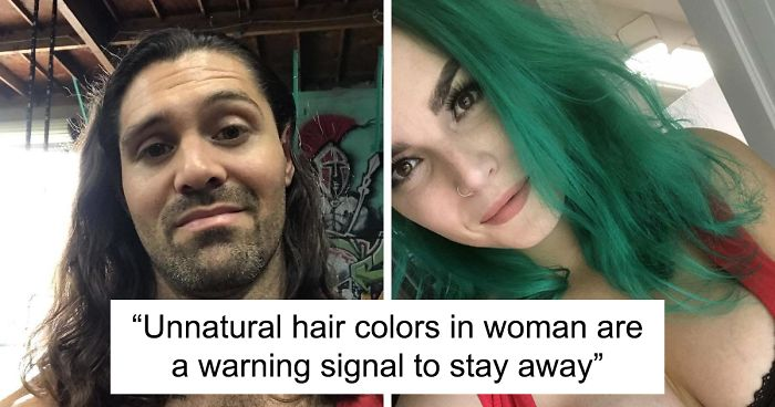 This Woman Had The Best Comeback Ever To A Man Who Said To Stay Away From Women With Dyed Hair