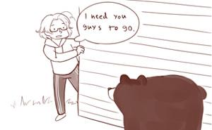 La gente se ríe con lo distinto que tratan a los osos los canadienses y los fineses