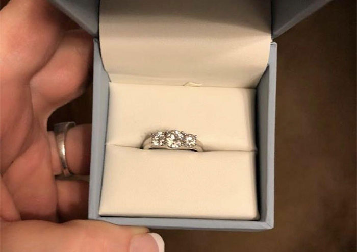 Woman Finds A Ring In Her Boyfriend's Nightstand, Posts It To A Ring-Shaming Group