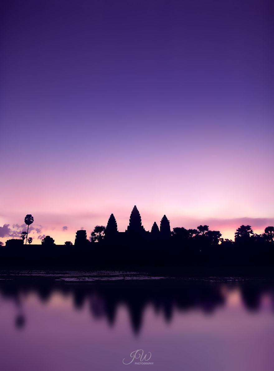 Dawn In Angkor
