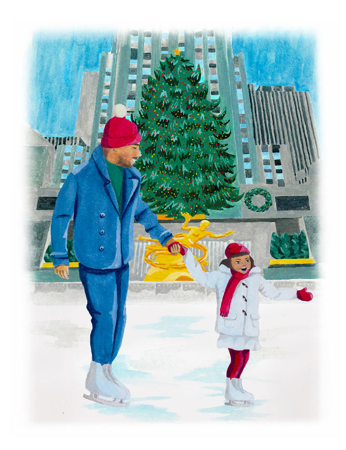 Just 7 Perfect Christmas Memories Illustrated In Watercolor