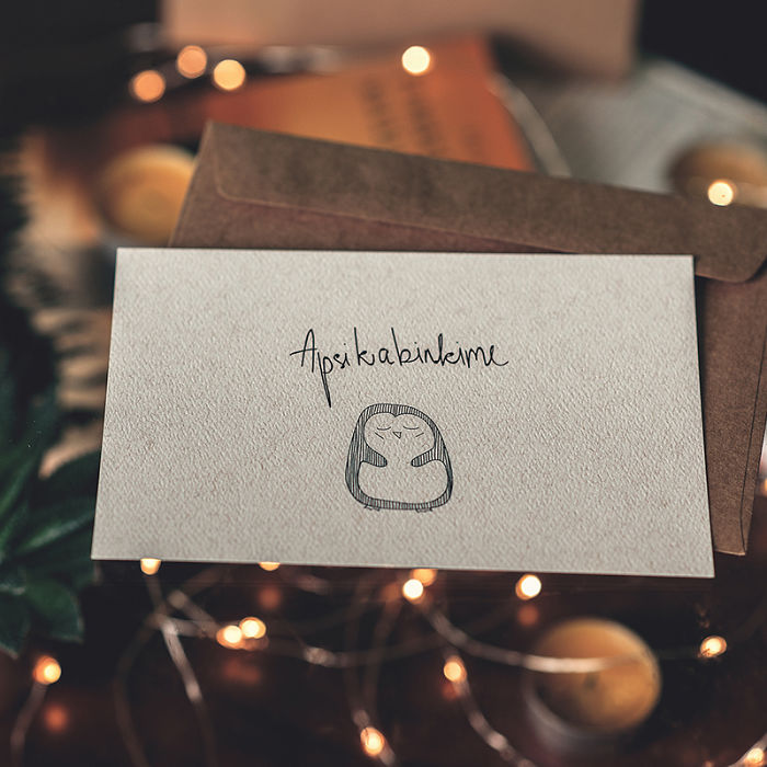 We Created Heartwarming Christmas Postcards That Everybody Falls In Love At First Sight