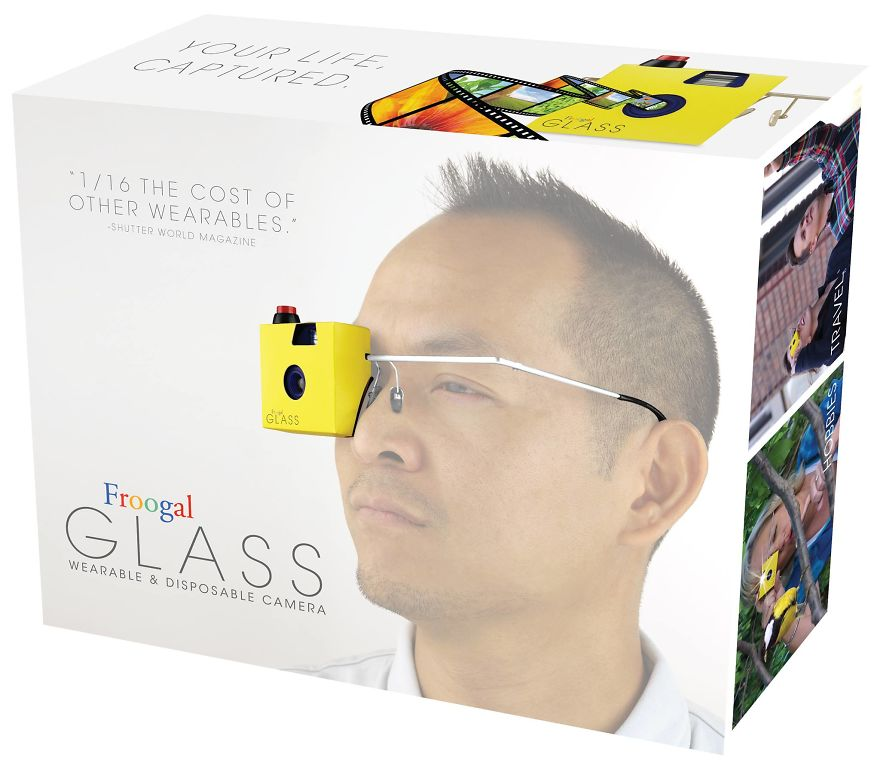 Wearable And Disposable Camera