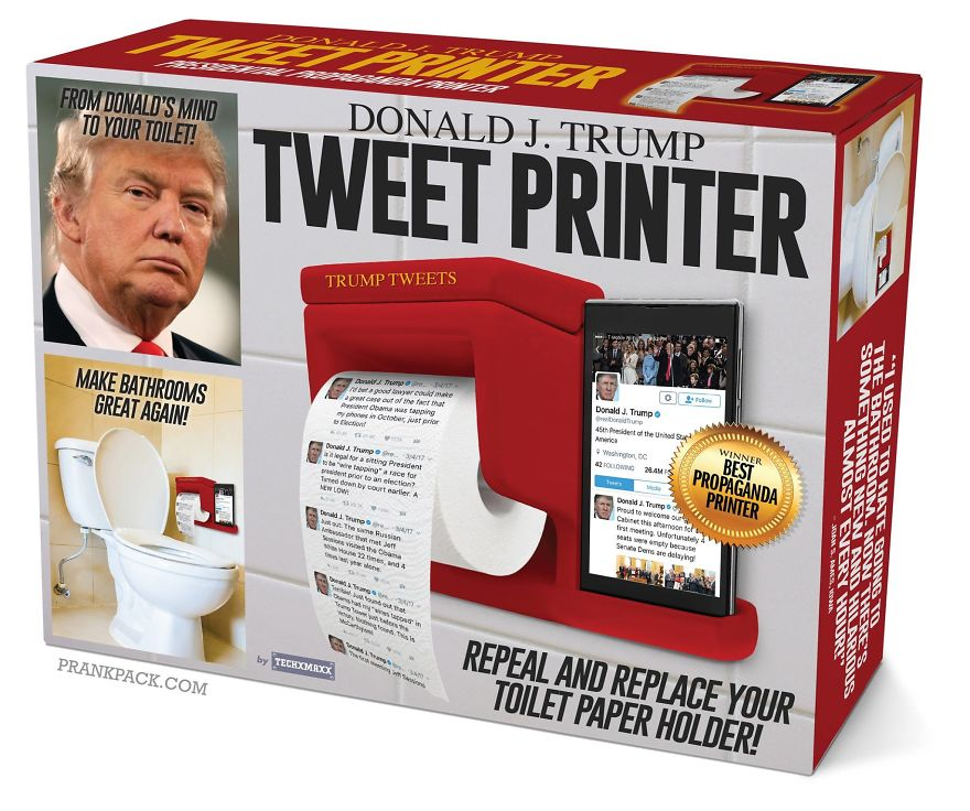 Donald J. Trump Tweet Printer