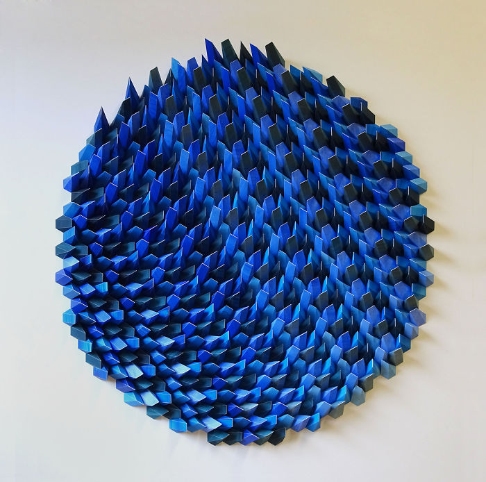 The Way This Engineer Turns Simple Sheets Of Paper Into Geometric Art Is Amazingly Satisfying (30 Pics)