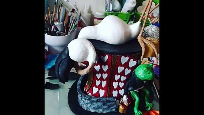 I Make Fantastical Wearable Art Top Hats Out Of Eva Foam And Worbla
