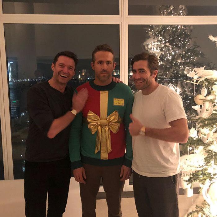 Ryan Reynolds Gets Hilariously Pranked By Hugh Jackman And Jake Gyllenhaal