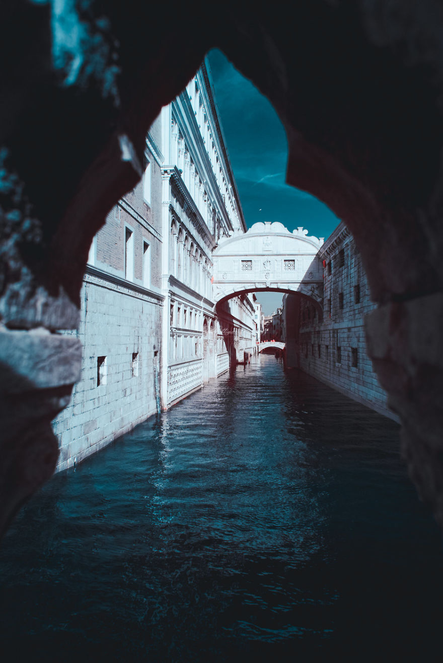 Italian Photographer Captures The World In Infrared And It Is The Best Thing You Would Ever See