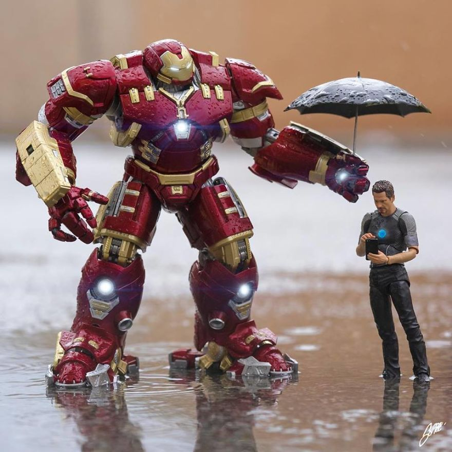 Did You Notice That Spring Has Arrived, Mr. Stark?
