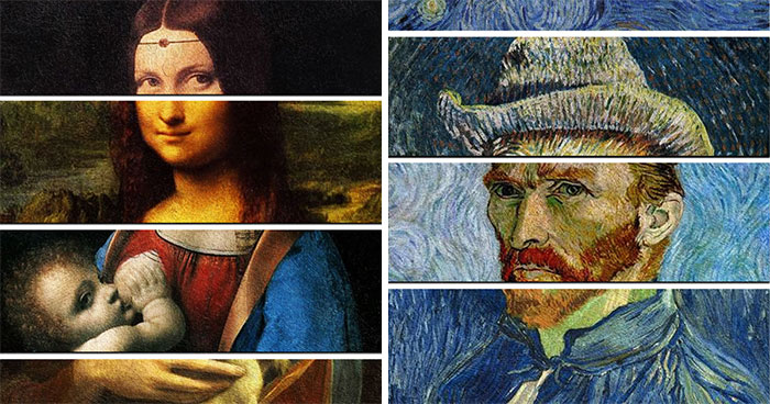 I Created 14 Collages To Show The Parallels Between The Various Masterpieces Of Famous Artists