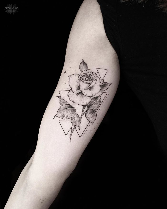 49 Amazing Geometric Tattoos By Turkish Artist Okan Uçkun ...