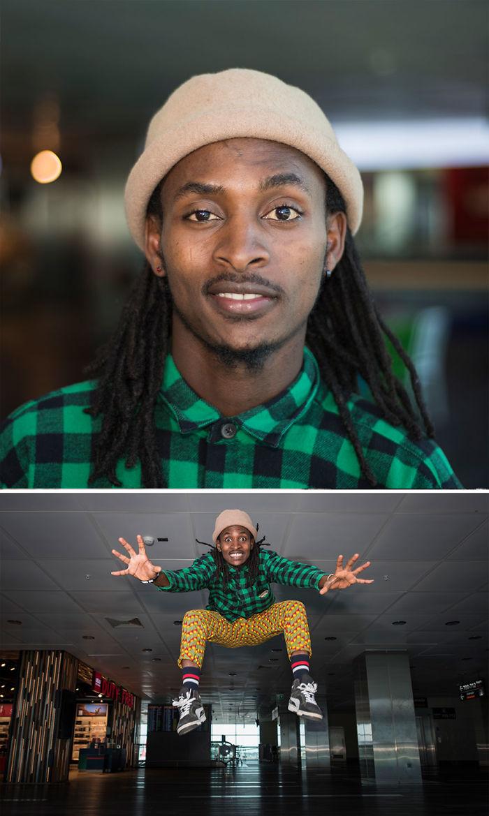Ibrahim Zethy aus Ruanda
