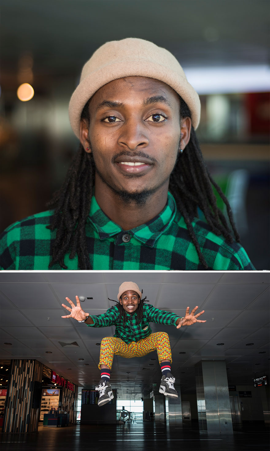 Ibrahim Zethy From Rwanda