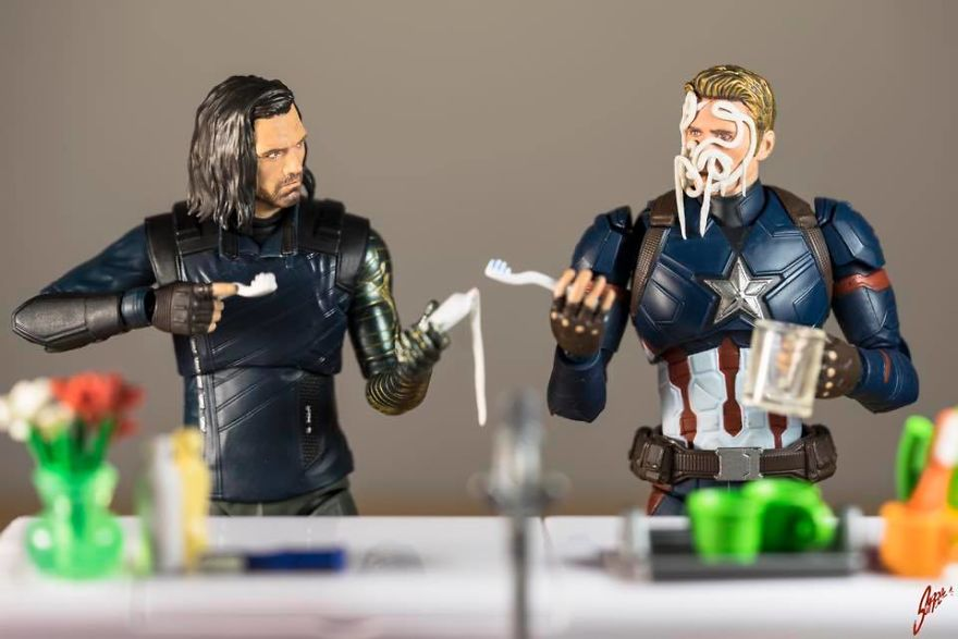 I Think You Should Ask The Wakandians To Review That New Metal Arm Of Yours, Bucky